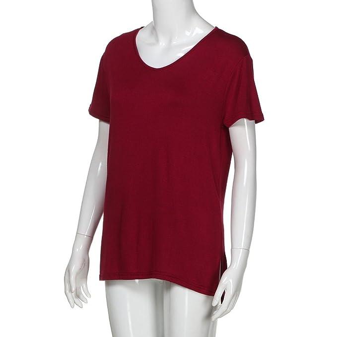 YKARITIANNA Women Plus Size Stripe Three Quarter Sleeve Off Shoulder Pullover Tops Shirt
