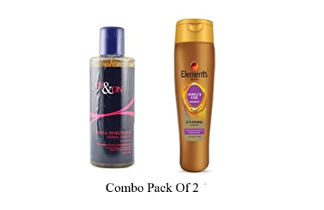 3ebb84464a Image Unavailable. Image not available for. Colour: Elements On&On Maha  Bhringraj Herbal Hair Oil ...