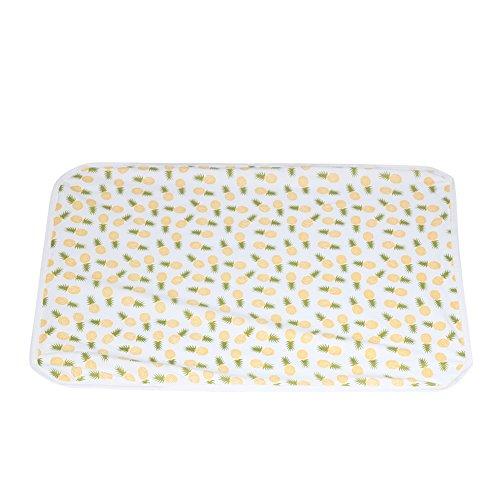 Diamondo 2pcs Baby Infant Swaddle Wrap Blanket Pineapple Print Sleeping Bag Headband by Diamondo (Image #7)