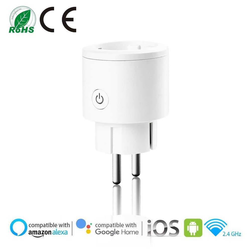 Instalación eléctrica Smart Sockets Uhomely Smart Wifi Plug con ...