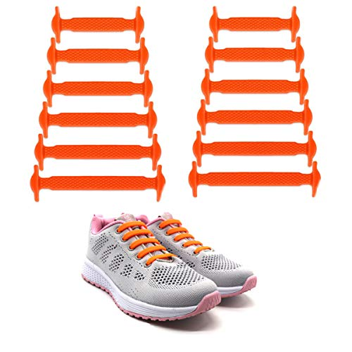 87faa516fd820f Galleon - LattoGe No Tie Silicone Shoelaces Lace Lock Kids Shoe Laces Bands  For Kids