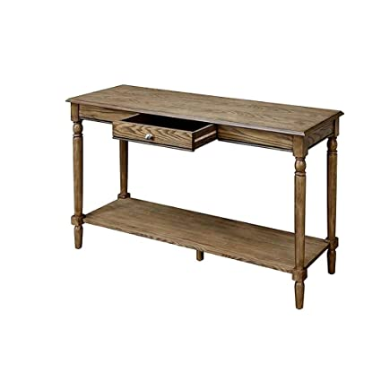 Admirable Amazon Com Farmhouse Console Table Driftwood Indoor Long Lamtechconsult Wood Chair Design Ideas Lamtechconsultcom