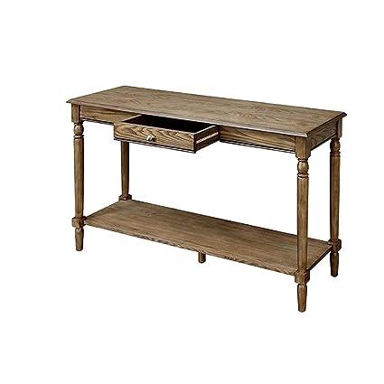 Tremendous Amazon Com Farmhouse Console Table Driftwood Indoor Long Beatyapartments Chair Design Images Beatyapartmentscom