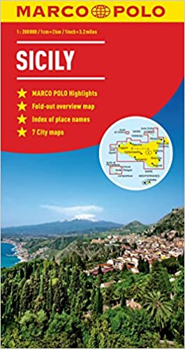 """""FREE"""" Sicily Marco Polo Map (Marco Polo Maps). million business model portas music where"