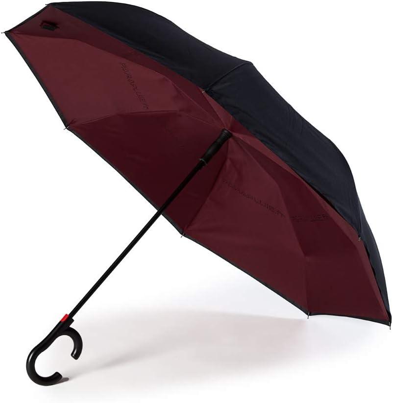 Garantie 5 Ans L/éger Elegant et Ultra Solide /«Parapluie.fr/» Parapluie invers/é Automatique Haut-de-Gamme Boite individuelle Double-Toile 190t pong/ée Anti-UV Anti-intemp/érie mod/èle /«Kingstone/»