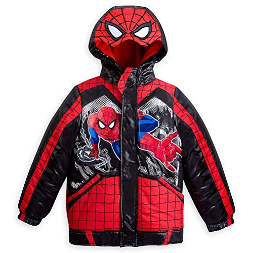 an Little Boy Hooded Puffy Jacket Size 5/6 (Boys Puffy Jackets)