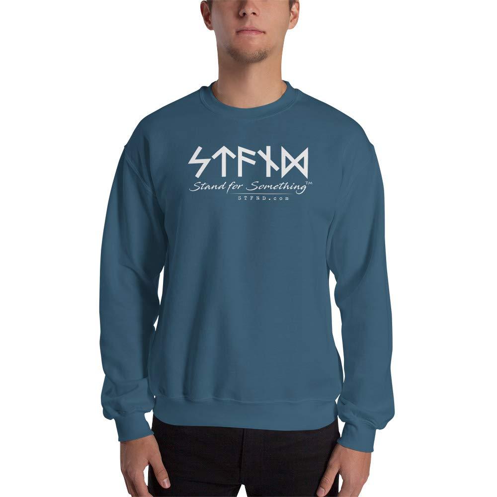 STFND Full Logo Unisex Sweatshirt Indigo Blue