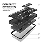 FITO Samsung A11 Case, Dual Layer Shockproof Heavy Duty Case with Screen Protector for Samsung Galaxy A11, Built-in…