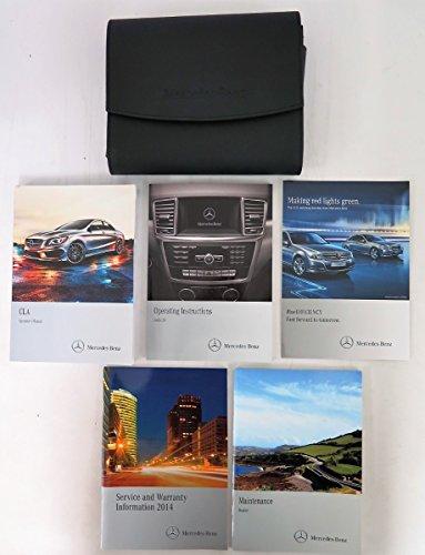 2014-mercedes-cla-250-cla-45-amg-4matic-owners-manual-set