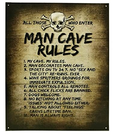 man cave time