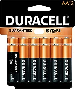 Amazon.com: Duracell - CopperTop AA Alkaline Batteries