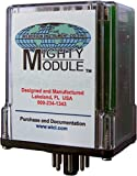 Wilkerson MM1000 Mighty Module DC Input Plug-In Single Alarm Mightly Module, 115VAC 2.4VA 60Hz Power, 0/10VDC Input
