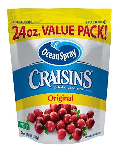 Ocean Spray Craisins Dried Cranberries, Original, 24 Ounce by Craisins
