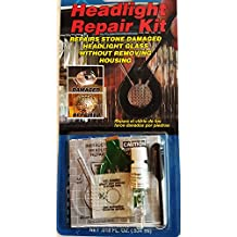 Headlight Repair Kit Repairs stone damaged headlight glass without removing housing