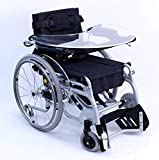 "Karman Healthcare XO-101-TB 18"" Manual Push-Power Assist Stand Wheelchair with Multi Functional Tray"