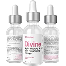 60% Glycolic Acid - Lactic Acid Chemical Peel with Retinol - Anti Aging Exfoliate Treatment For Acne, Hyperpigmentation, Fine Lines, Brown Spots, Wrinkles, Age Spots, Uneven Skin Tone (1 fl oz)