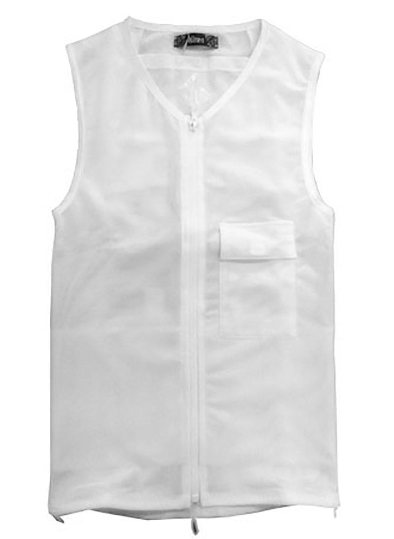 アグリパワースーツ (ホワイト L) B01M4PZEA3 ホワイト L