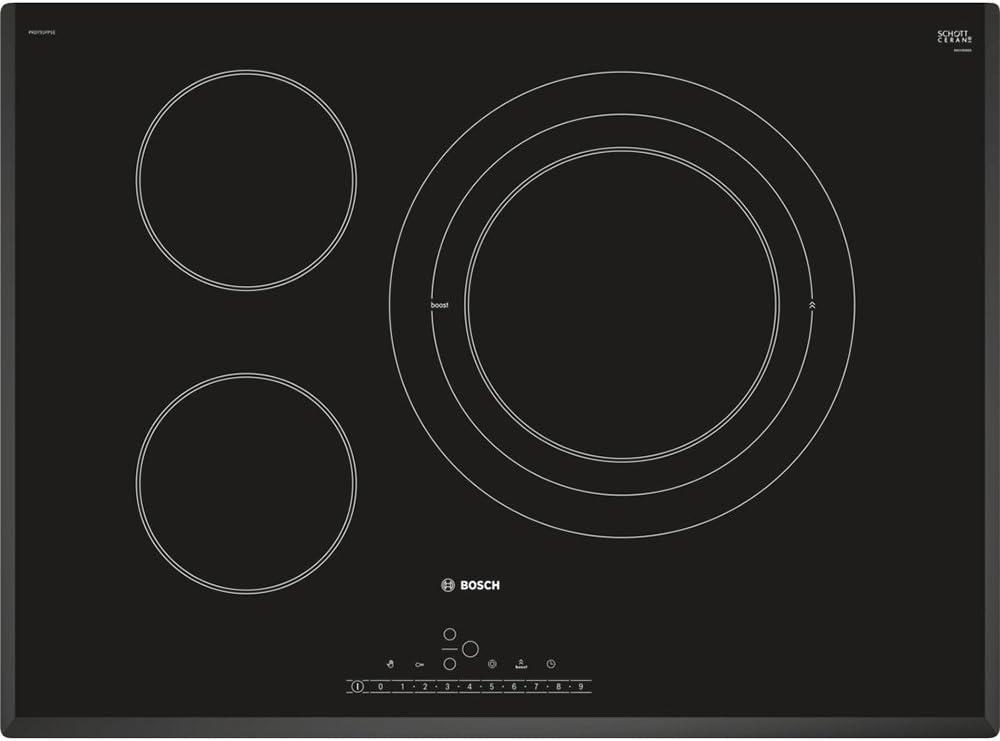 Bosch PKD751FP1E hobs Negro Integrado Cerámico - Placa (Negro ...