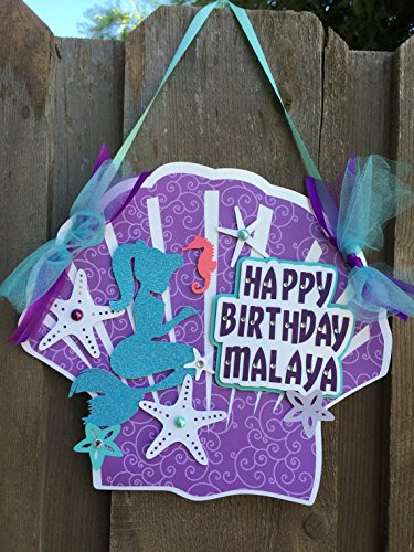 Under the sea theme little mermaid birthday birthday party package birthday party package