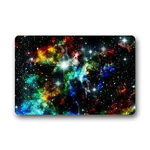 Nebulosa Galaxy espacio universo resistente de alta calidad Felpudo