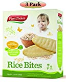 Introduce your child to Solid Food Easier and Faster!Congratulations, your little one has grown up and is finally entering the stage of being able to eat real food,Here's something great, to begin with - First Choice Rice Bites Baby Food! Mad...