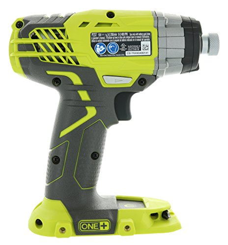 Ryobi P237 18V One+ Lithium Ion Cordless Multi Speed 1-1/4 Inch Keyless Chuck Impact Driver w/ Belt Clip and LED (Battery Not Included / Power Tool Only)