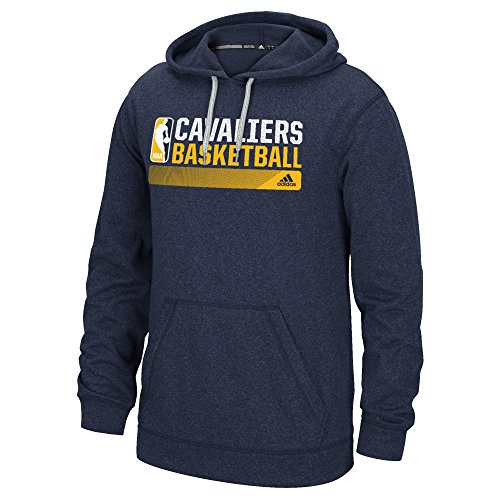 Nba Adidas - NBA Cleveland Cavaliers Icon Status Climawarm Ultimate Hoodie, Medium, Navy