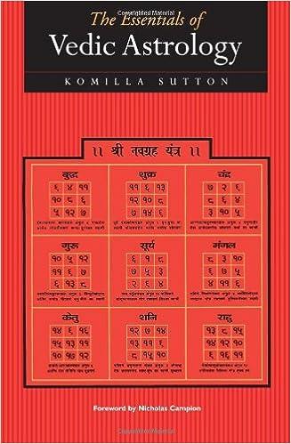the essentials of vedic astrology komilla sutton 9781902405063