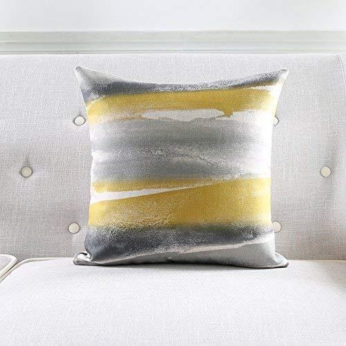 Fuxitoggo Cojín de algodón de Lino, para sofá, Almohada ...