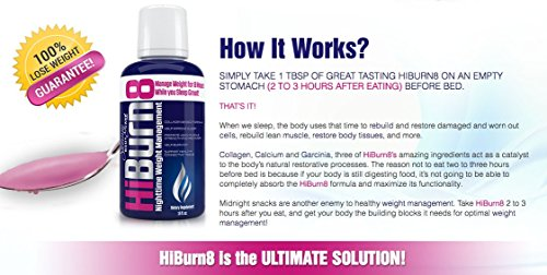 HiBurn8 - Night Time Weight Loss Formula