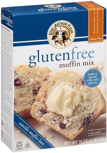King Arthur Flour Muffin Mix, Gluten Free, 16-Ounce (Pack of 3)