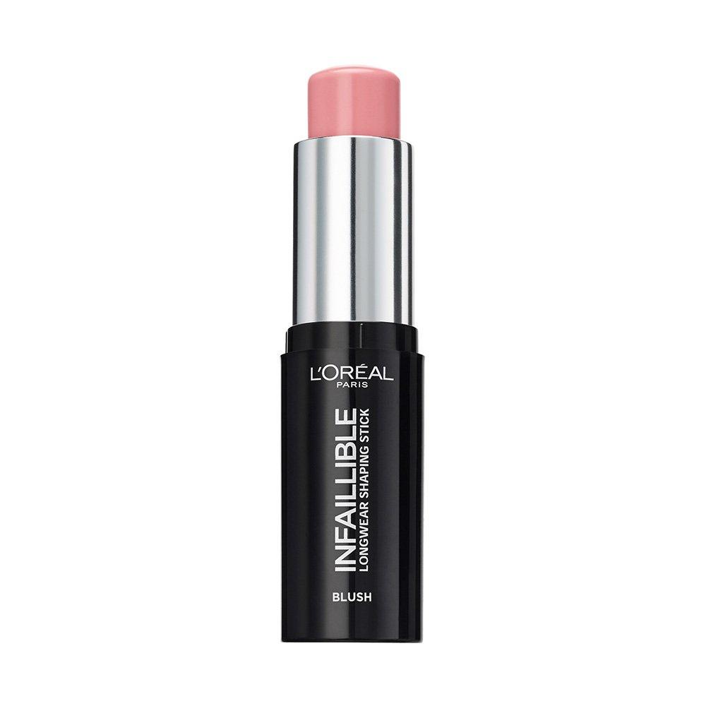 L'Oréal Paris Infaillible Blush in Stick, Applicazione Precisa e Risultato a Lunga Tenuta, 002 Nude in Rose L' Oréal Paris 3600523532940