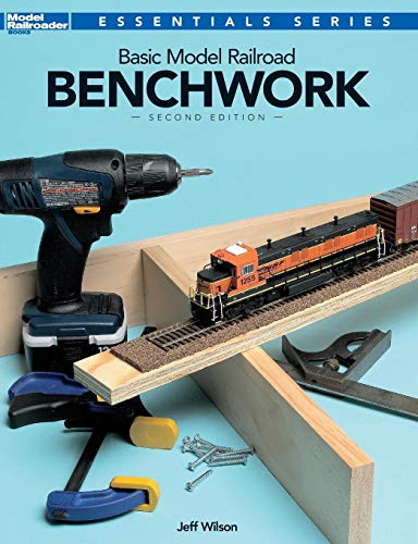 - Basic Model Railroad Benchwork (Model Railroader Essentials Series)