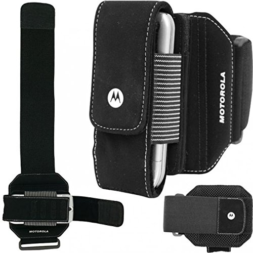 Armband Sports Gym Workout Arm Cover Case Jogging Strap Band Pouch Black for T-Mobile Samsung Galaxy S Blaze 4G - T-Mobile Samsung Galaxy S T959 - T-Mobile Samsung Galaxy S3 (SGH-T999)