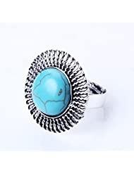 QIYUN.Z Fashionable And Generous Design Hand Ring Stylish Lovely Womens Wear Bague