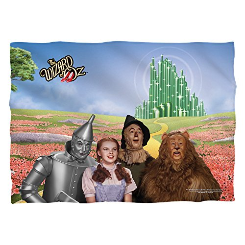 mago di Oz/Emerald City–Poly 20x 28Pillow case–White–One size by Trevco
