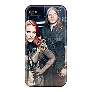 Durable Cell-phone Hard Covers For Iphone 4/4s With Unique Design Fashion Mayhem Band Skin AnnaDubois