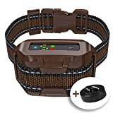 Q7 Pro - Professional Bark Collar Rechargeable, Microprocessor Smart Detection Module with Three Anti-Barking Modes: Beep/Vibration for Small, Medium, Large Dogs All Breeds - IPx7 Waterproof