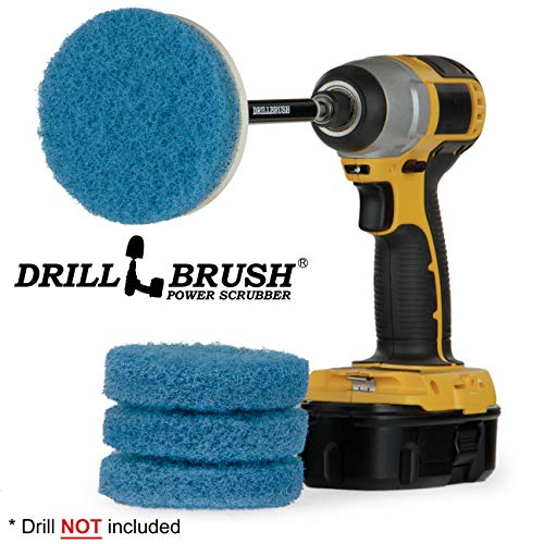 (Kitchen Accessories - Cleaning Supplies - Drill Brush - Spin Scrubber - Oven Cleaner - Stove Top Cleaner - Pots And Pans - Kitchen Sink - Hard Water Stain Remover - Drill Attachment Power Scrubber)