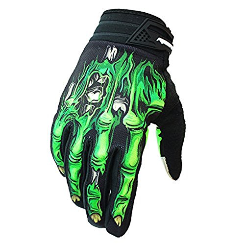 Full Finger Bike Gloves Light Silicone Gel Pad Motorcycle Gloves Riding Gloves for Men and Women