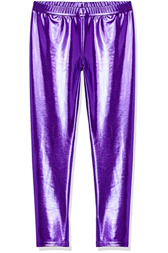 RED WAGON Leggings Metallic Dance Party Niña Morado (Purple)