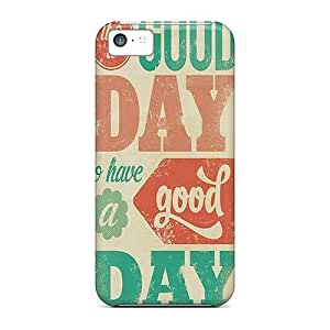 New Arrival Cover Case With Nice Design For Iphone 5c- Its A Good Day