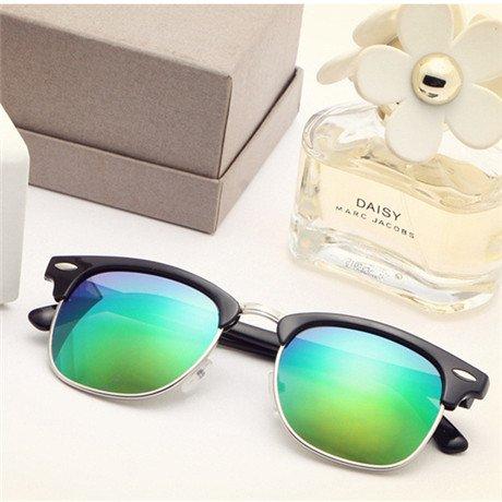 la Diseñador Sol Gafas de Gafas Sol Feminino de Hombres Mujer Unisex de De GGSSYY Gafas Marca Rojo Sol mercury Mercurio Green d0wXpxqX