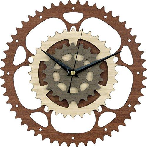 Gears Wooden Clock/Bike Clock/Bicycle Clock/Motorcycle Clock