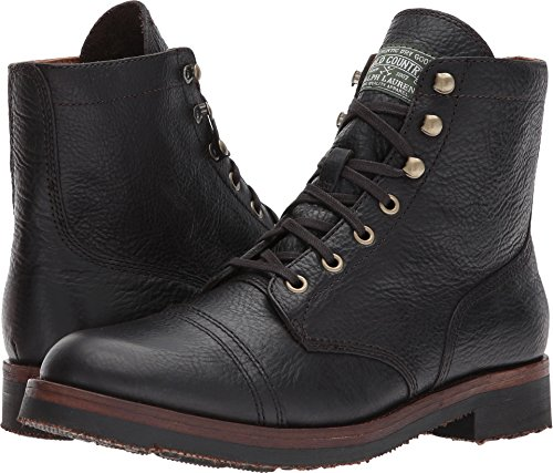 Polo Ralph Lauren Mens Enville Fashion Boot Dark Brown