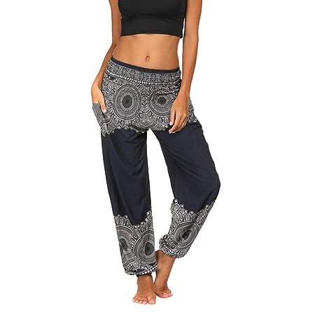 Hose mit weitem Bein Artistic9 Palazzo - Pantalones de Mujer ...