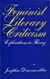 img - for Feminist Literary Criticism~ Explorations in Theory: First Edition book / textbook / text book