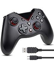Zacro Mando Controlador Inalámbrico Válido para Switch, Bluetooth Mando Joy Stick, Android,PC Negro