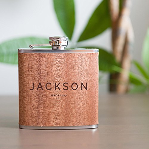 Personalized Flask Groomsmen Stainless Groomsman