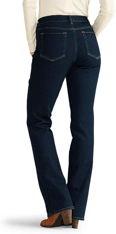 Eddie Bauer Womens StayShape Boot Cut Jeans Curvy
